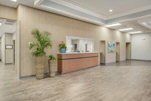 Gadsen Eye Associates reception desk