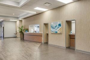 Gadsen Eye Associates reception area
