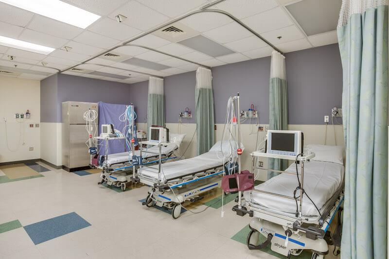 Gadsen Eye Associates recovery room